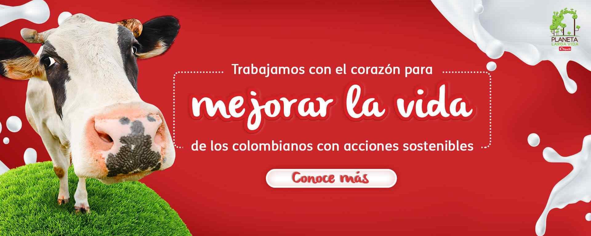 Trabajamos para mejorar la vida de los colombianos